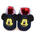 Baby Girl boy Cute Cartoon Mickey mouse Shoes Newborn Unisex Casual Prewalker Footwear Soft Bottom Anti-slip Bebe Shoes GYH