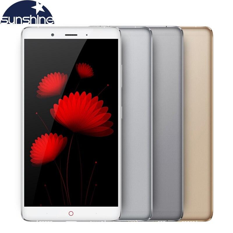 Original ZTE Nubia Z11 MAX 4G LTE Mobile phone Octa core 6 0 16 0MP 4G