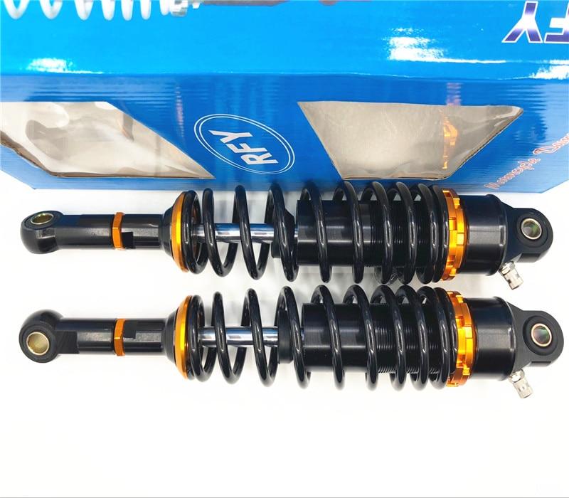 RFY 1pair 7mm Spring Universal 305mm 320mm 340mm Nitrogen Rear Shock Absorber Motorcycle for Honda cb400