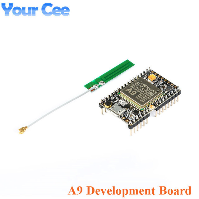 US $5 5 |GPRS GSM Module A9 Core Board Module Pudding Development board SMS  voice Wireless Data Transmission IOT-in Integrated Circuits from