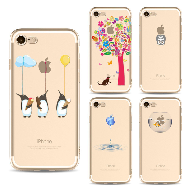 case for iphone7 plus Mobile Shell Paint tpu case for Apple 6s Phone Case Customize Mobile Shell riverdale fortnite