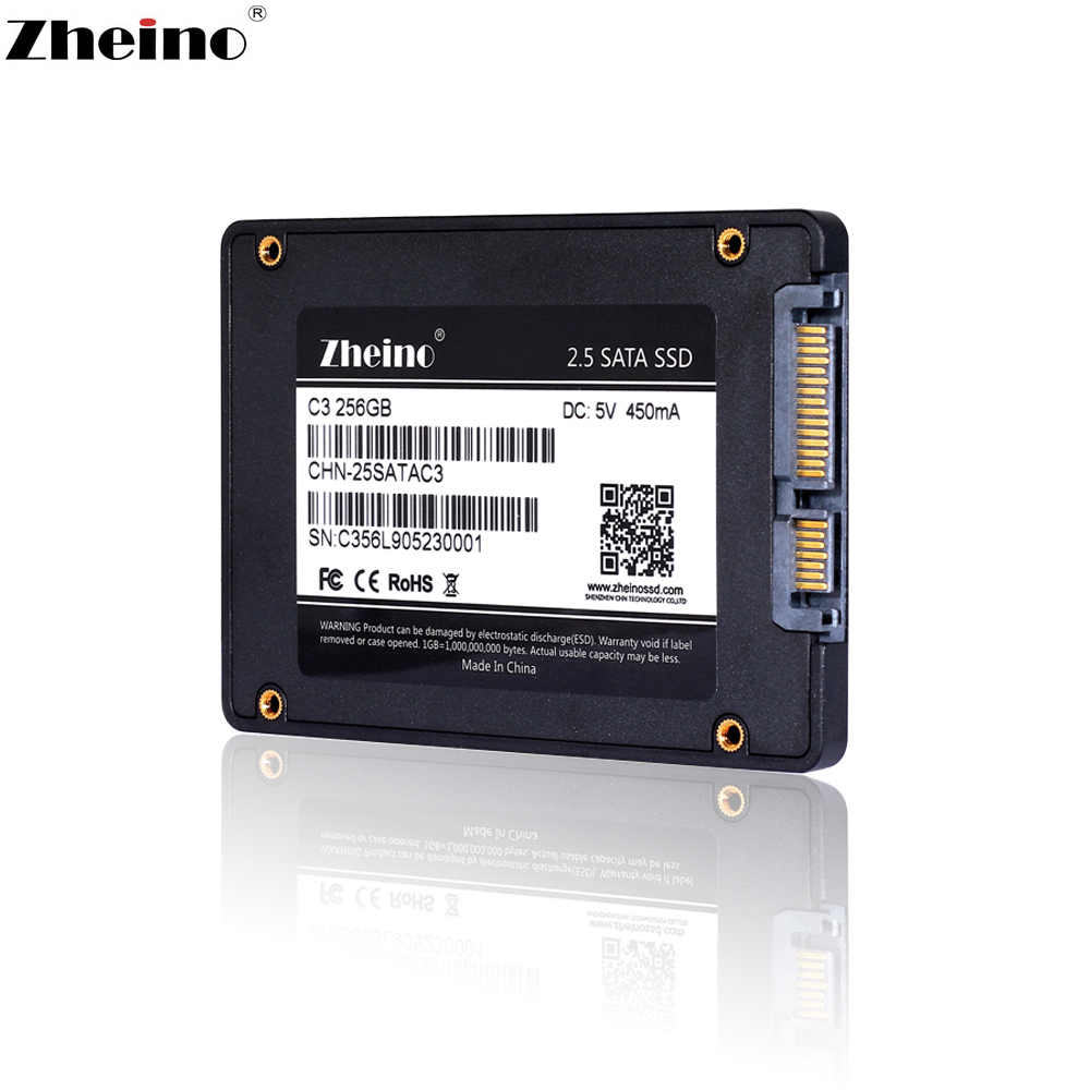Zheino SSD SATAIII 60GB 120GB 128GB 240GB 256GB 360GB 480GB 512GB 960GB 1TB 2TB Internal Solid State Disks HDD For Laptop(China)