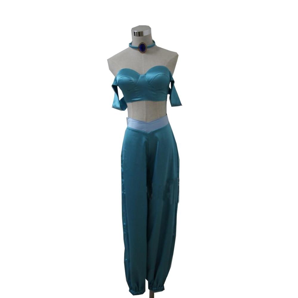 ᓂ2017 Aladdin Cosplay princesa jazmín traje Películas película ...