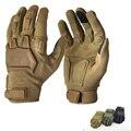 Moto Dedo Cheio de Combate Das Forças Especiais do exército Luvas Táticas Ao Ar Livre Anti-corte antiderrapante Carbono Knuckle Luvas