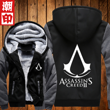 Assassins Creed Cosplay Jacket Men Hoodies Sweatshirt Hoody Fashiion Autumn Winter Coat