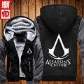 Fashiion Assassins Creed Косплей Куртка Мужчины Толстовки Толстовка С Капюшоном Осень Зимнее Пальто