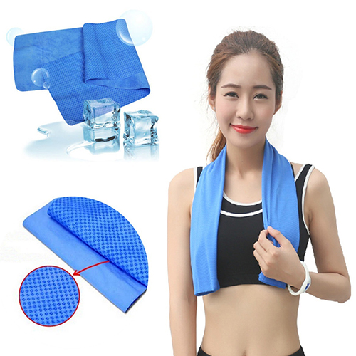 Cooling Sports Towel Ice: Summer Ice Towel Sport Towel Scarf Reuseable Cycling