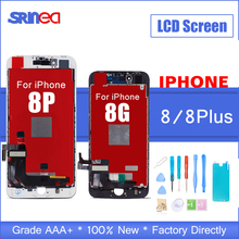 100% AAAA 3D Touch Original LCD Screen For iPhone 8 Plus LCD Display Digitizer Touch Module Apple i Phone 8g 8p Replacement Gift все цены