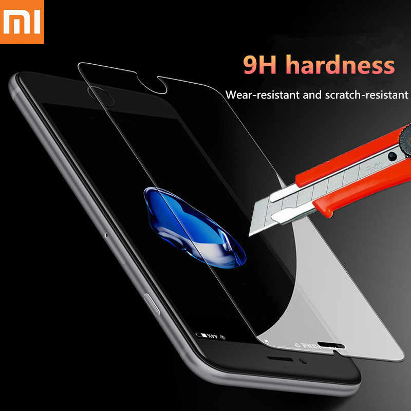 2pc Tempered Glass For Xiaomi Redmi 6A 6 Screen Protector on Redmi Note 5 5A 4 4X 4A 5 Plus 7 Cristal Protective Glass For Xiomi