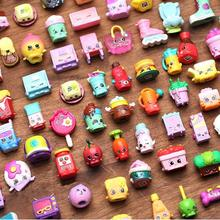 25pcs/lot Miniature Shopping Fruit Dolls Styles Toys For Family Kids Action Figures For Little Figurines Mixed Season