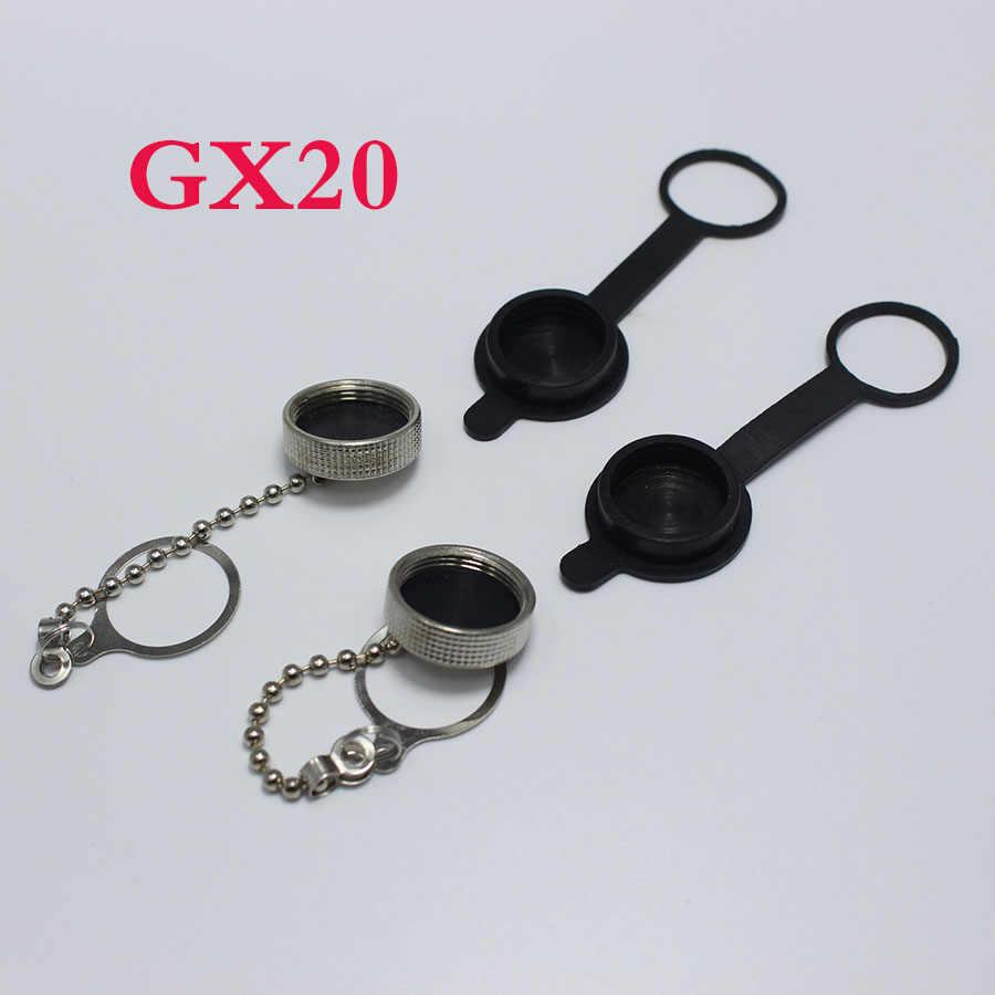 GX12 GX16 GX20 Protector Cap 12mm 16mm 20mm Plug Socket Terminal Connector Caps