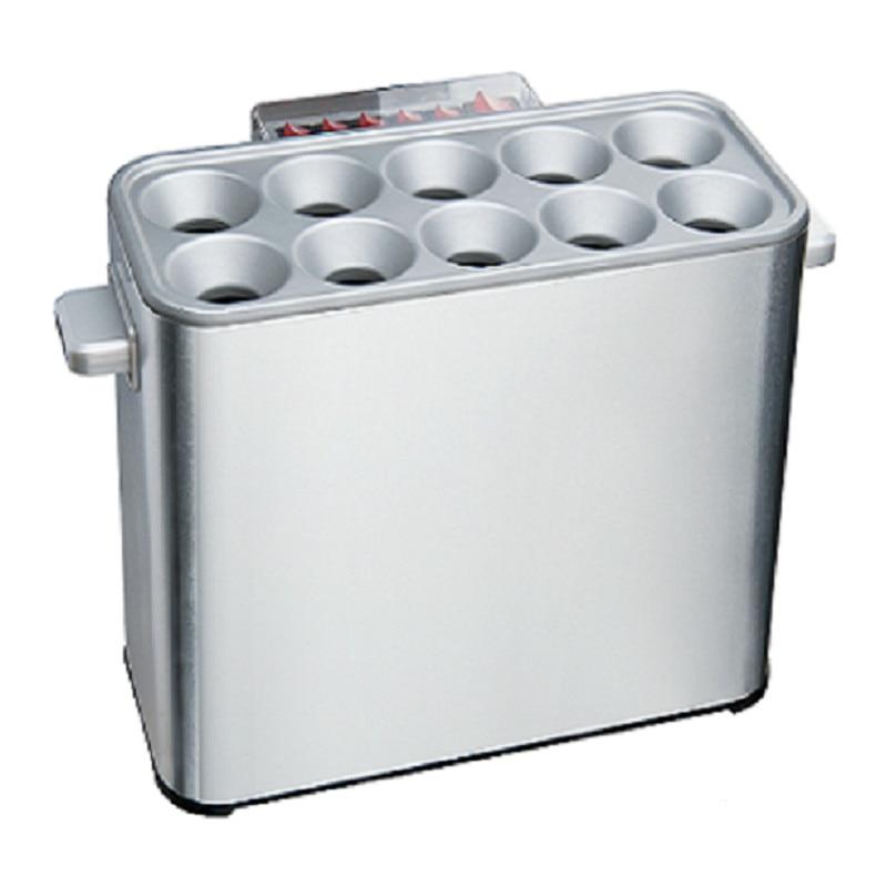 Commercial egg Sausage Cooker hot dog maker Eggs omelet roll Master electric Egg Boiler cup breakfast machine 10 holes EU