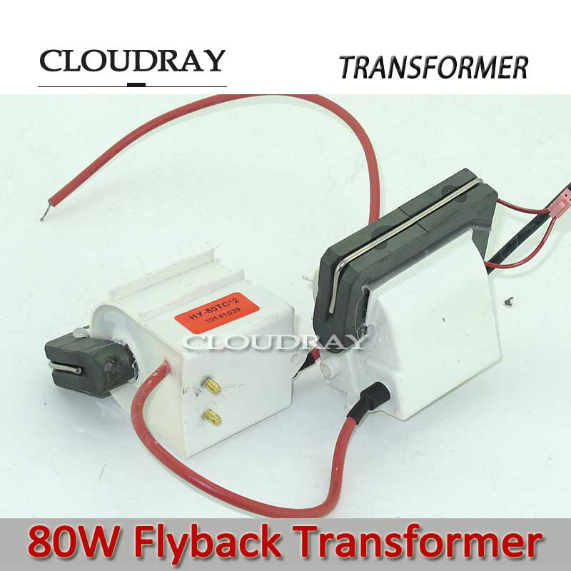 Cloudray Flyback Transformer 220v to 110v Autotransformer Transformer For 80W Co2 Laser Power Supply Flyback-80 2436395 flyback transformer
