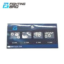 FightingBro 6pcs Gear Shim Set Per Airsoft Accessori AEG Pistole ad Aria Gel Blaster Jinming8 Jinming9