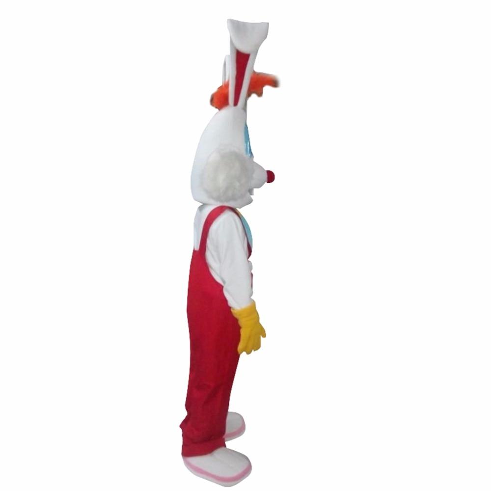 Nach Maß CosplayDiy Unisex Maskottchen Kostüm Roger Kaninchen ...