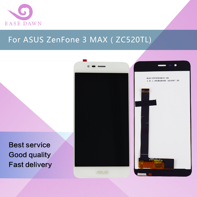 For 5.2 Asus Zenfone 3 ZC520TL X008D LCD ips display Screen Display+Touch Panel Digitizer With Frame  For Asus Display OriginalFor 5.2 Asus Zenfone 3 ZC520TL X008D LCD ips display Screen Display+Touch Panel Digitizer With Frame  For Asus Display Original