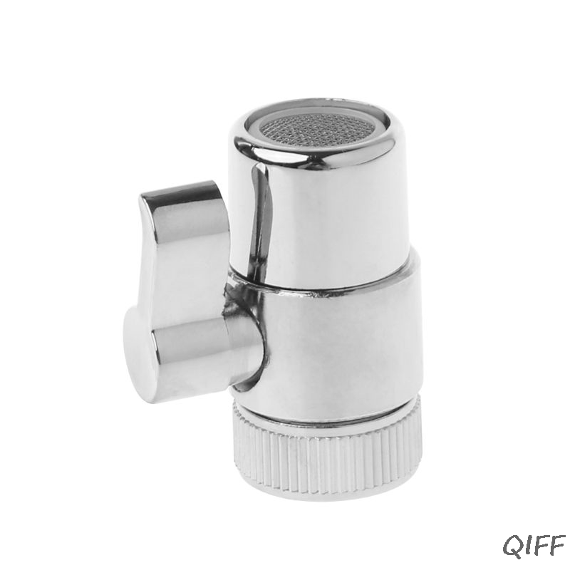 Brass 3-way Diverter Valve Faucet Connector Adapter Three Head Function Switch Mar28