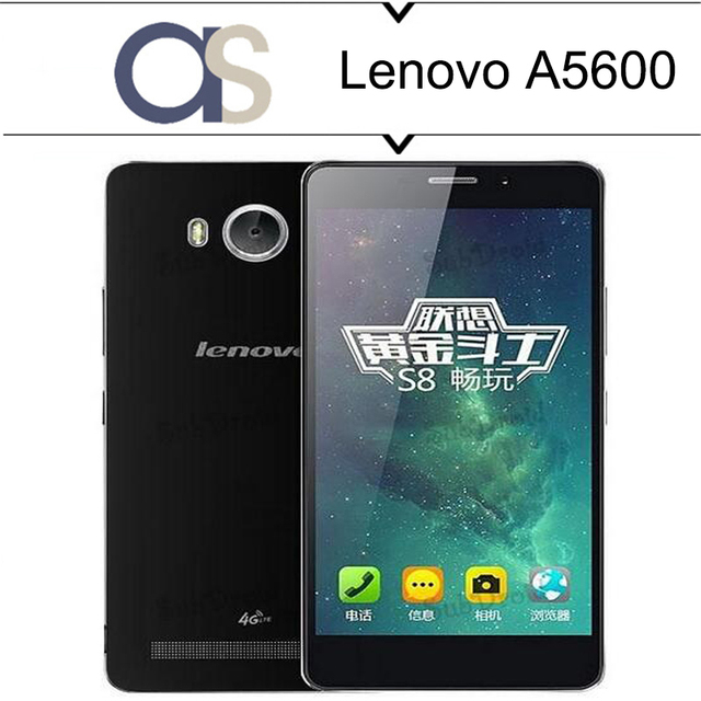 100% Original Lenovo A5600 LTE 4G Mobile Phone Android 5.1 MTK 6735P 1.0GHz Quad Core 1G RAM 8G ROM 5.5inch 720P 8.0MP camera