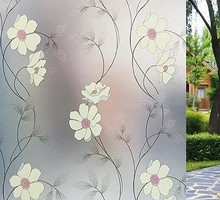 Stainded Glass Films Window Film colours self adhesive decorative frosted privacy Decals 9803 Width 60cm/75cm/85cm*300cm