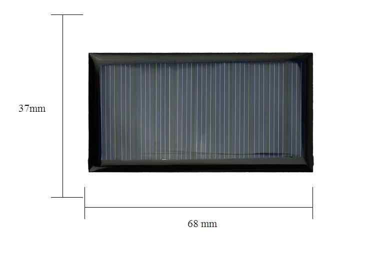 ALLMEJORES ソーラーパネル 5 ボルト 6 ボルト 12 ボルトミニ太陽電池パネル Diy のバッテリー充電器パワーバンクのおもちゃ電源ソーラーライト