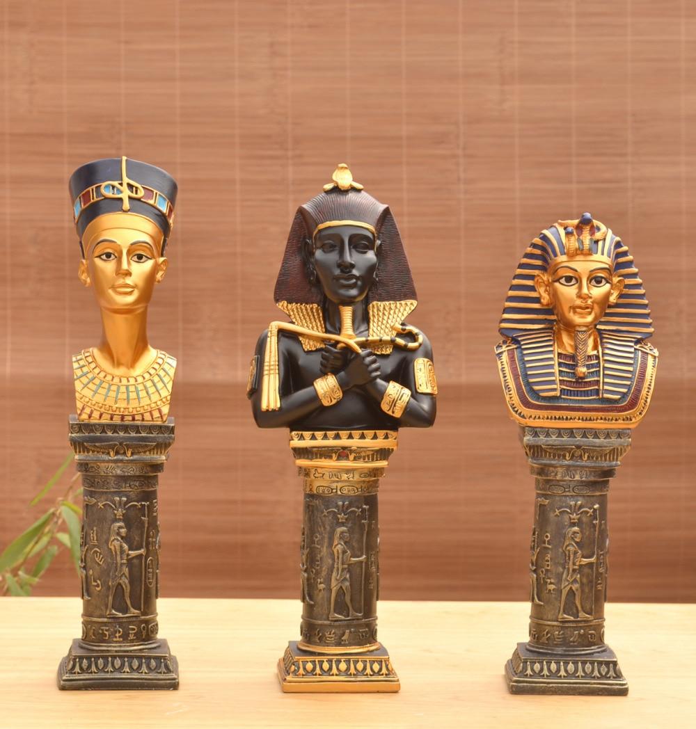 Smole obrti okraski evropski kipi egiptovski faraon dnevna soba - Dekor za dom