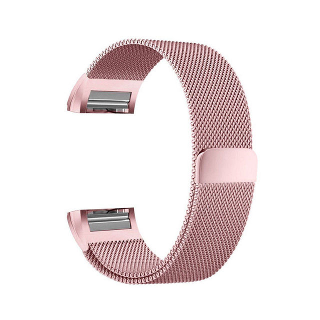 Essidi Milanese Bracelet Strap For Fitbit Charge 2 Smart Band Steel Fitness Bracelet Band Replacement For Fitbit Charge 2 1