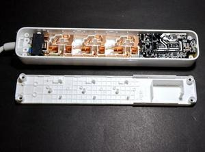 "Image 5 - מקורי שיאו mi כוח רצועת mi חכם בית אלקטרוניקה טעינה 3 USB 2.0 ממשק הארכת שקע תקע/האיחוד האירופי בריטניה ארה""ב AU מתאם"