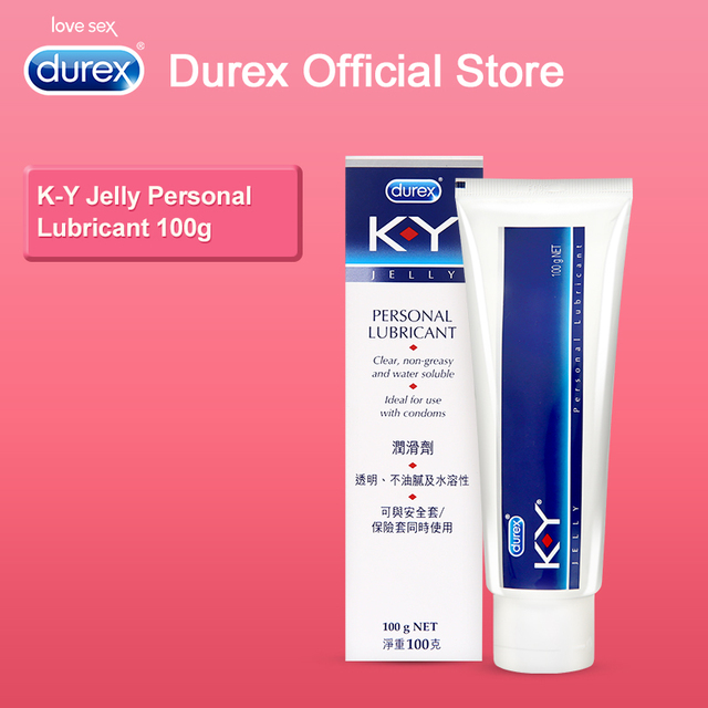 Durex K-Y Jelly Personal Lubricant Thick Water-based Sex Oil 100g Sex Lubricant Anal Lubricant Sex Lube for Vagina for Adults