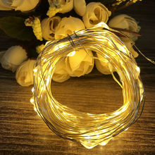 2M 3M Copper wire Waterproof LED string light Battery powered Fairy Light for Party Wedding Christmas decoration