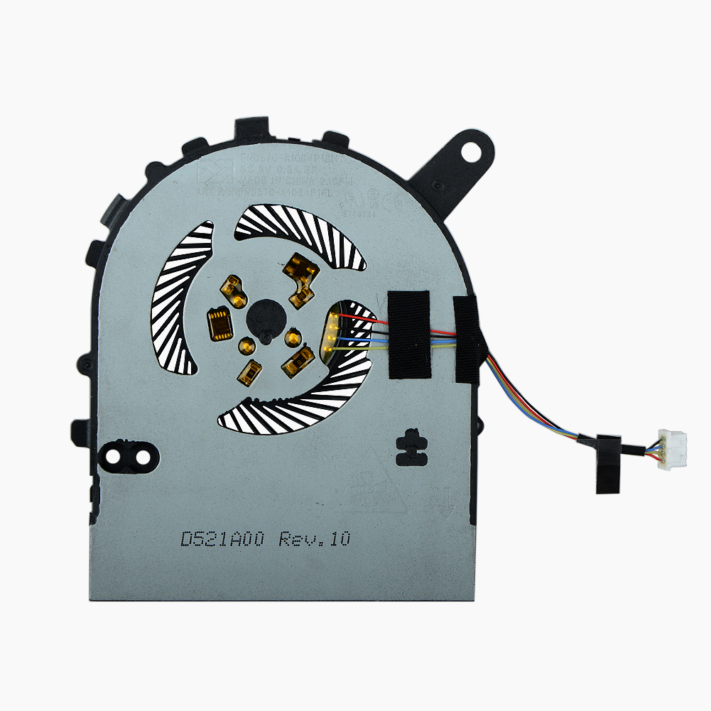 4 Pin Laptops Replacement Accessories Cpu Cooling Fans Fit For DELL 7460 Notebook Computer Cooler Fans