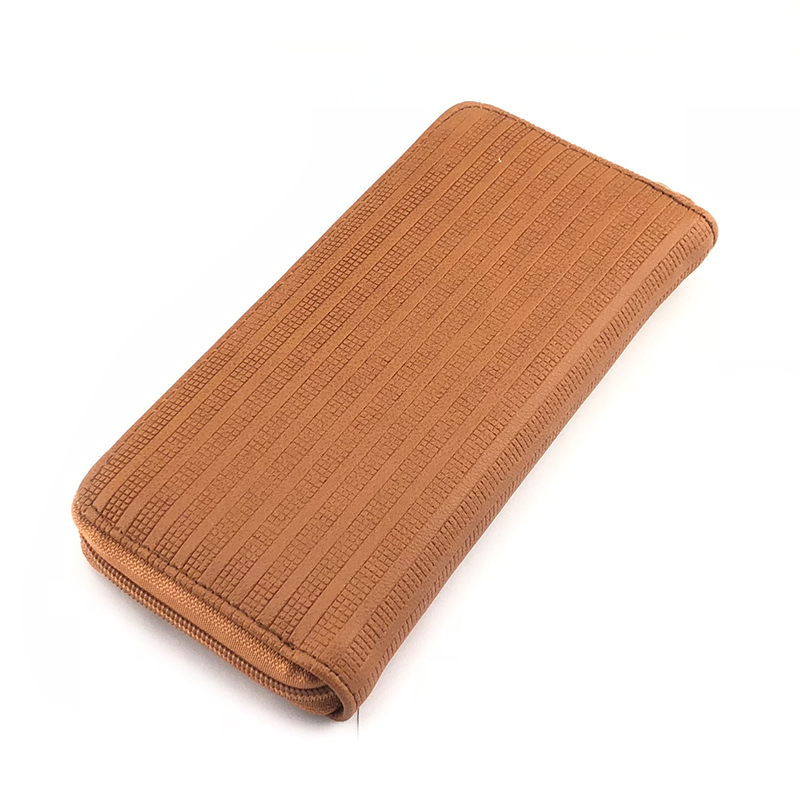 BELLO TUTTI Women Wallets PU Leather Long Style Card Holder Money Purse Fashion Female Zipper Hand Phone Bag Brown