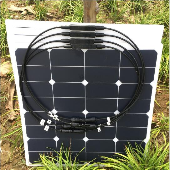 50W Marine use flexible solar panel light weight bendable thin solar cells 1m x 12m solar panel eva film sheet for diy solar cells encapsulant
