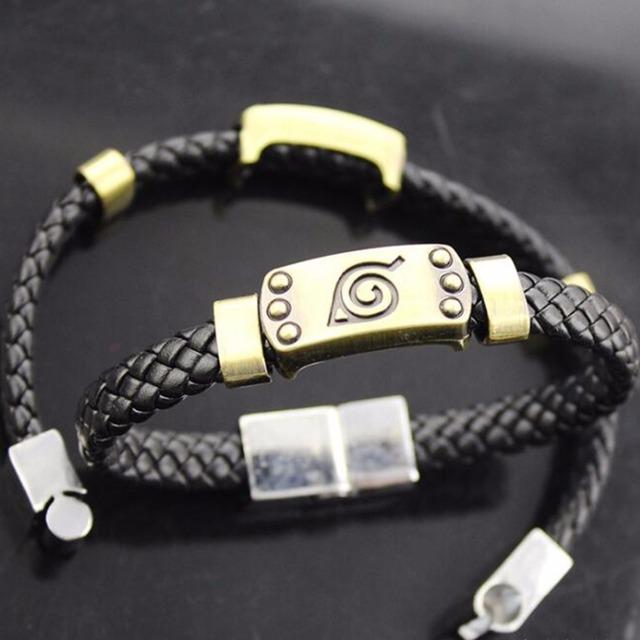Ninja Handmade Bracelets Leaf Village Logo