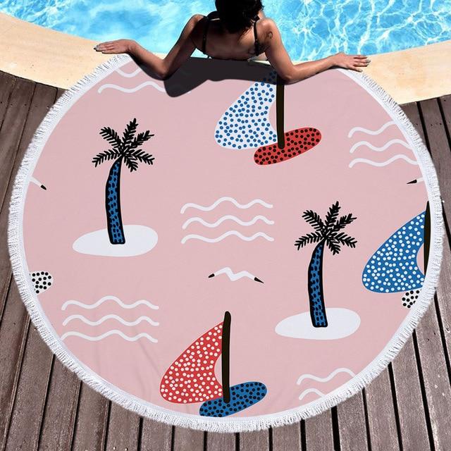 Summer Time Microfiber Beach Towel 4