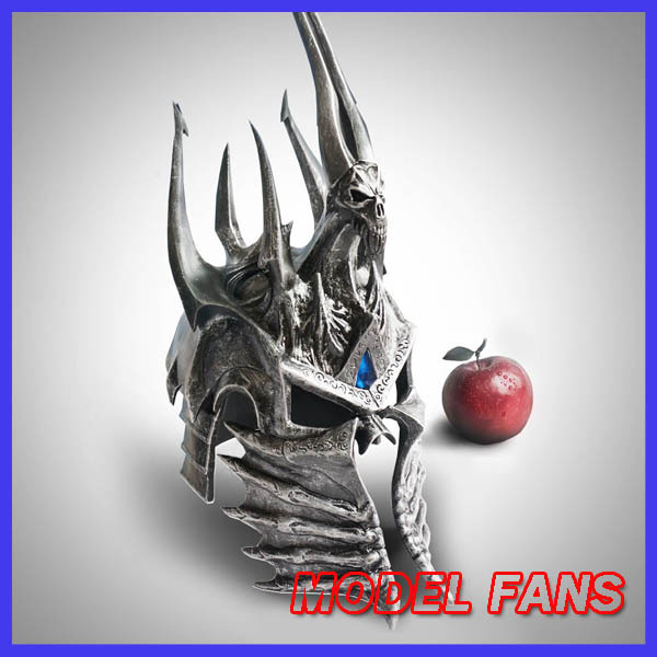 MODEL FANS Glass steel made HCMY Lich King helmet 1:1 for Collection