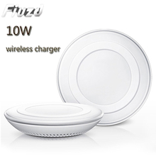 10W Fast Wireless Charger For Samsung Galaxy S9/S9+ S8 S7 Note 9 S7 Edge USB Qi Charging Pad for iPhone XS Max XR X 8 Plus wireless charger for iphone x 8 plus 10w wireless charging for samsung galaxy s8 s9 s7 edge qi usb wireless charger pad