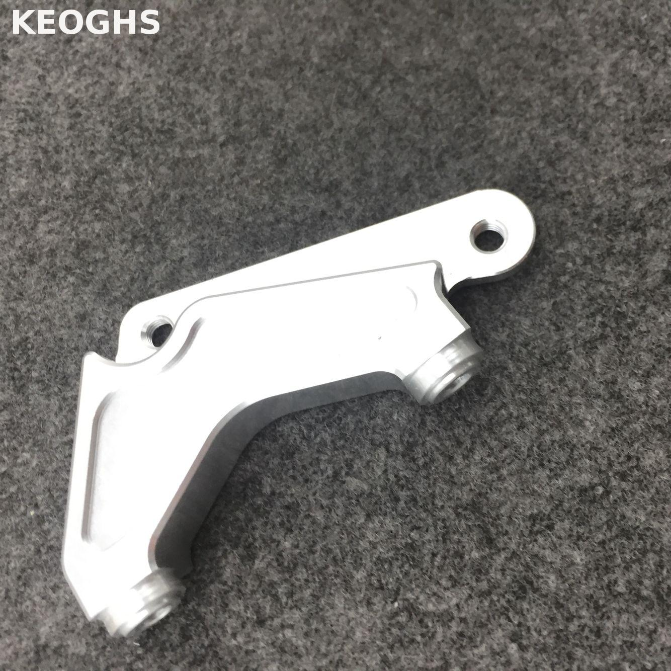 Keoghs Motorcycle Cnc Brake Caliper Bracket/adapter For 82mm Brake Caliper 200mm Brake Disc And Original Fork For Honda Dio keoghs real adelin 260mm floating brake disc high quality for yamaha scooter cygnus modify