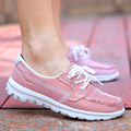 Women Casual Shoes Canvas Breathable Soft Ladies Shoes Outdoor Walking Mujer Zapatillas Massage Height Increasing 2016 Fashion