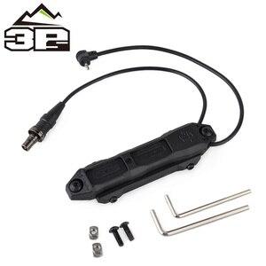 Image 2 - Pressostato remoto MLOK KEYMOD tattico per PEQ Scout arma luce doppio pulsante torcia da caccia PEQ Fit Picatinny Rail