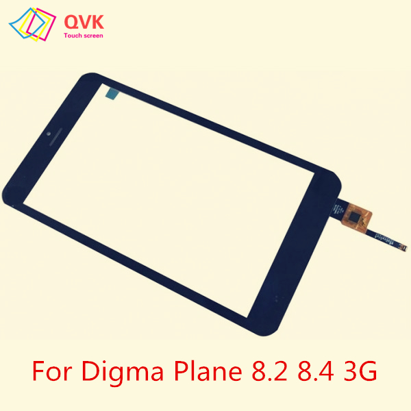 Black Touch Screen 8 Inch For Digma Plane 8.1 8.2 8.3 8.4 8.5 8.6 3G Capacitive Touch Screen Panel Repair