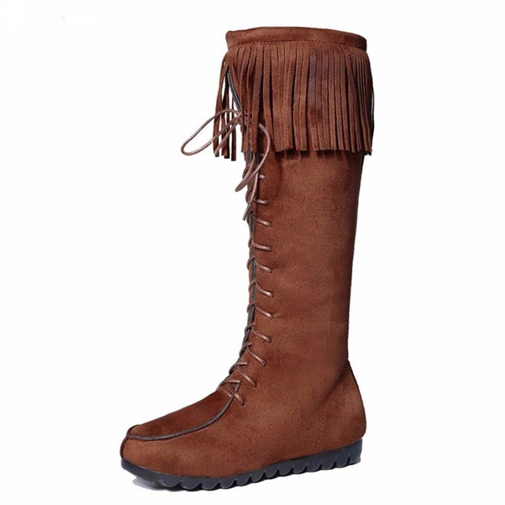 Popular Knee High Moccasin Boots Buy Cheap Knee High