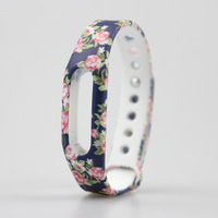 2017 Newest 1pc Colorful Silicone Wrist Band Bracelet Wrist Strap Replace Strap For Xiaomi Miband Mi band 1 & 1S Smart Band