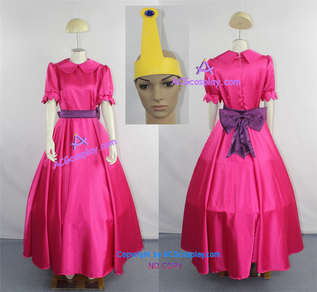 Adventure Time Princess Bubblegum Cosplay Costume  sc 1 st  AliExpress.com & Adventure Time Princess Bubblegum Cosplay Costume-in Boys Costumes ...