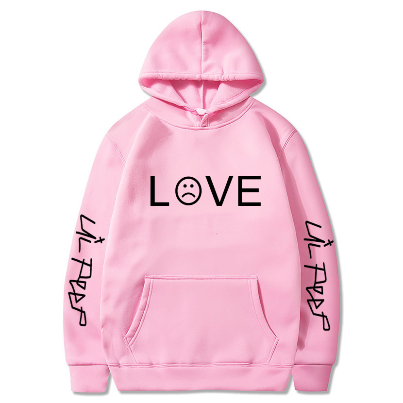 2019 Lil Peep Hoodies Hell Boy Lil.peep Men/women Hooded Pullover Male/female Sudaderas Cry Baby Hood Hoddie Sweatshirts Love