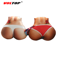 VOLTOP Ass Car Seat Supports Beauty Hips Cushion Pillow Padding Car Covers Auto Office Home Rest Boyfriend Husband Car styling