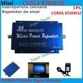 Venda quente! Mini Ganho 60dBi CDMA GSM 850 MHz RF Repetidor GSM Repetidor de sinal Celular Amplificador de Sinal De Reforço + Carregador De Energia