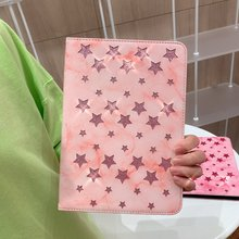 For ipad air 2 case glitter shining stars marble vein Stand Protective TPU Cover for 2/pro 9.7/ipad 2017/ipad 9.7 2018
