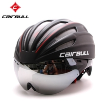 Mountain Bike Helmet with Goggles Glasses Men and Women Cycling Equipment Integrally Molded Helmets