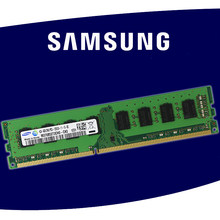 Samsung módulo de memória ram pc, de desktop pc, módulo de memória ddr2 800 667 mhz pc2 6400u 1gb 2gb 4gb 8gb ddr3 1333 1600 mhz PC3-12800U 10600u