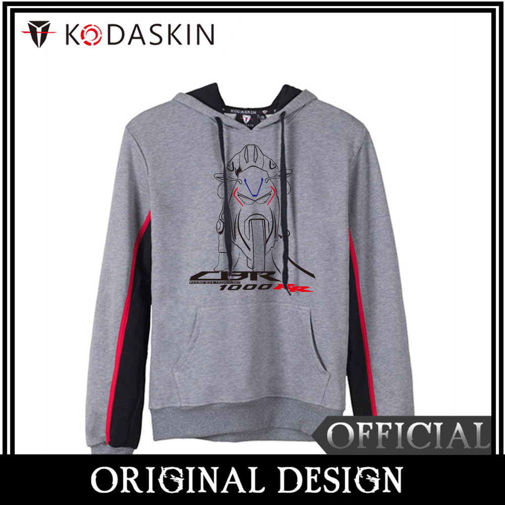 KODASKIN Original Men Cotton Round Neck Casual Motorcycle Printing Sweatershirt Hoodies Sweater for CBR1000RR in Shirts Tops from Automobiles Motorcycles